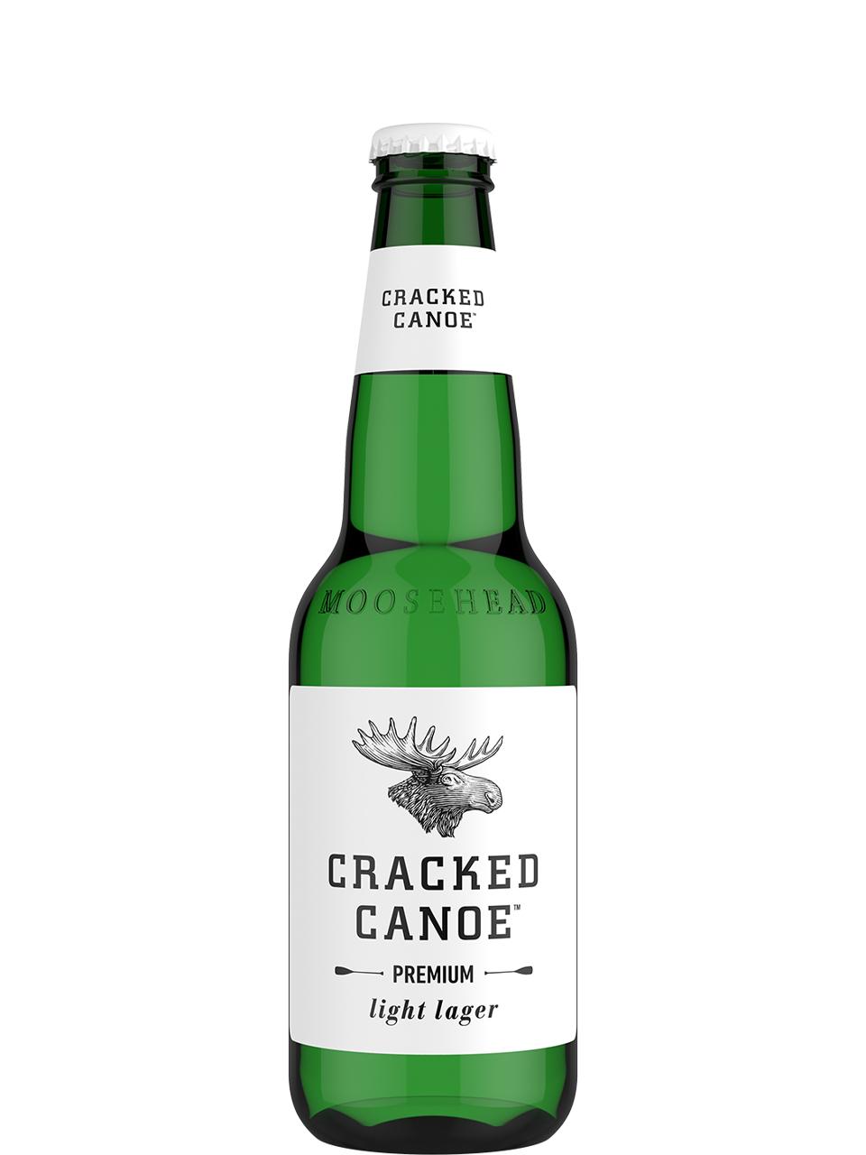 Moosehead Cracked Canoe 12 Pack Bottles
