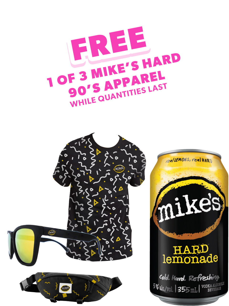 Mike's Hard Lemonade 6 Pack Cans
