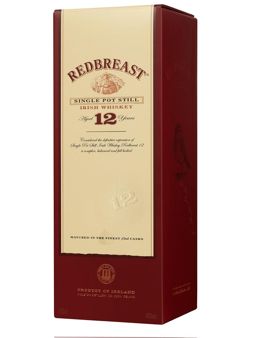 Redbreast 12YO Single Pot Still Irish Whisky