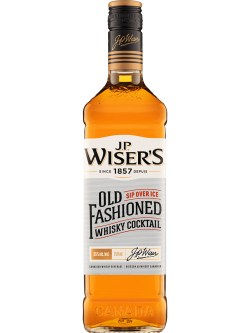 J.P. Wiser's Old Fashioned Whisky Cocktail