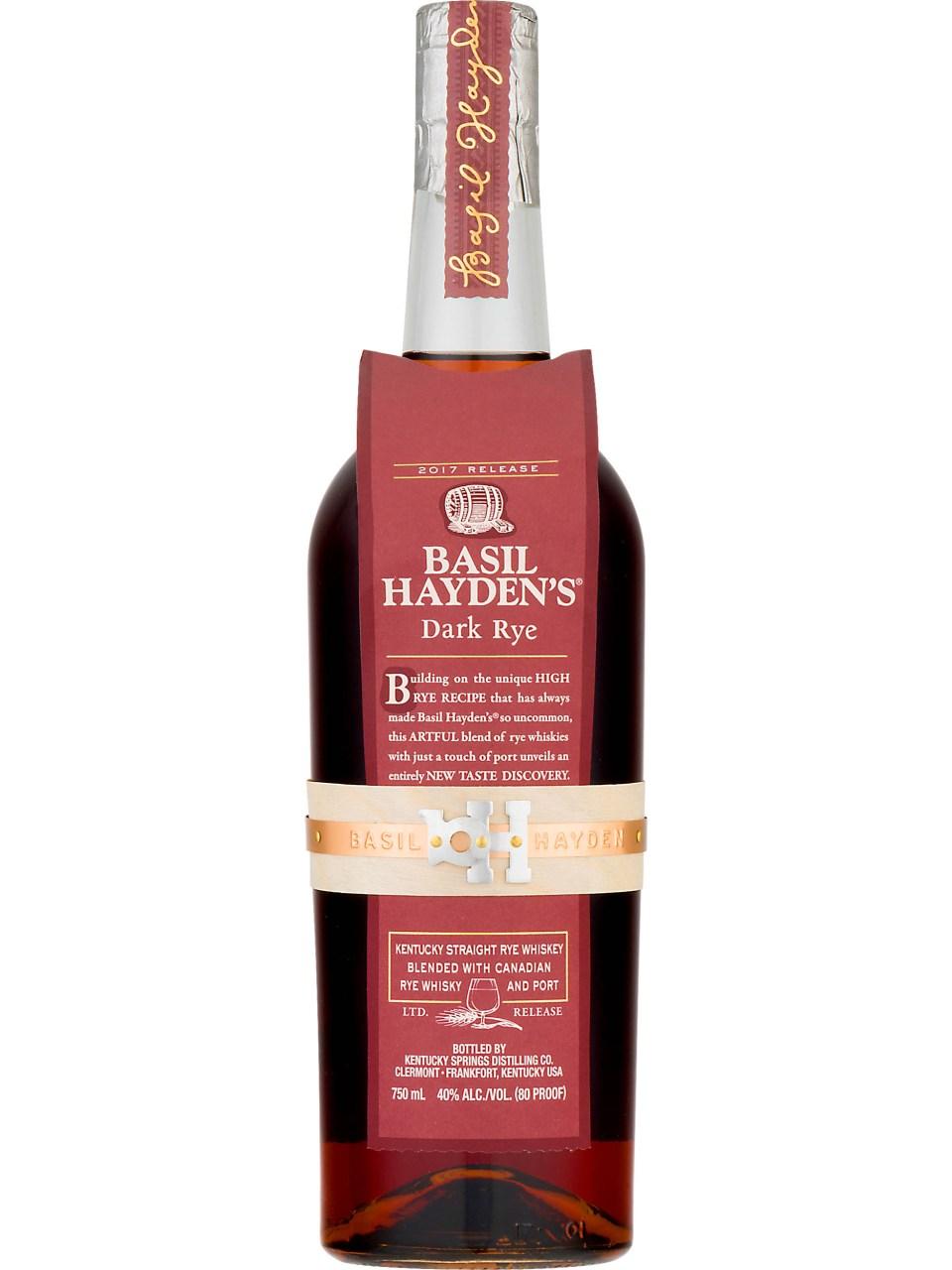 Basil Hayden Dark Rye Kentucky Straight Whiskey