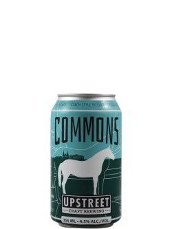 Upstreet Commons Czech Style Pilsner 6 Pack Cans