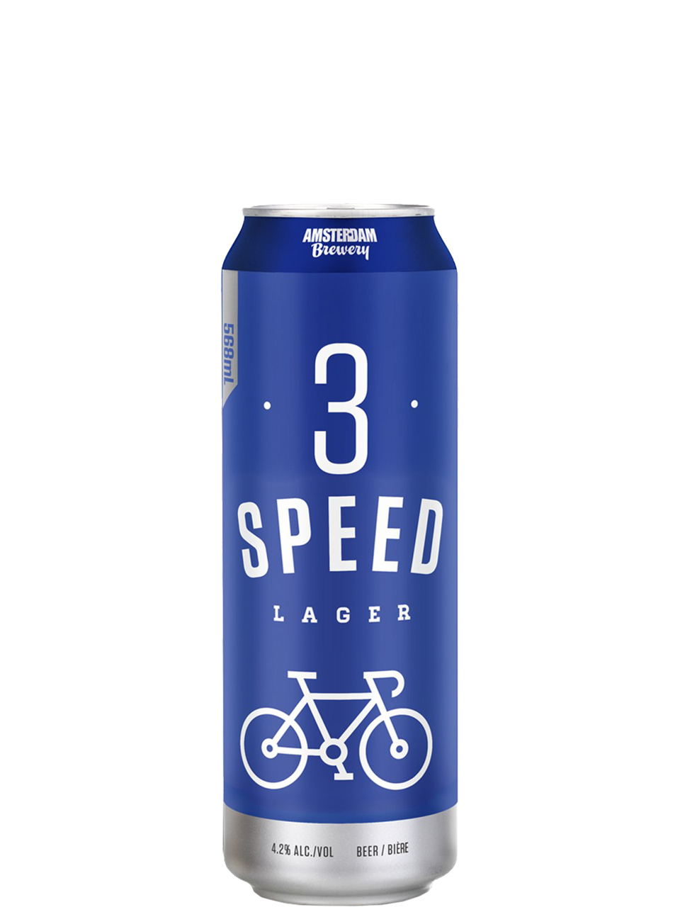 Amsterdam 3 Speed Lager 568ml Can