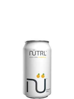NUTRL Vodka Soda Pineapple 6 Pack Cans
