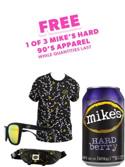 Mike's Hard Berry 6 Pack Cans