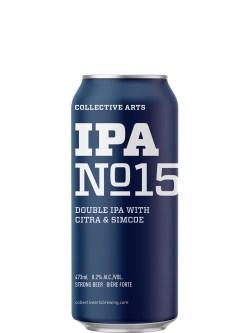 Collective Arts IPA No.15 DIPA Simcoe & Citra Hops