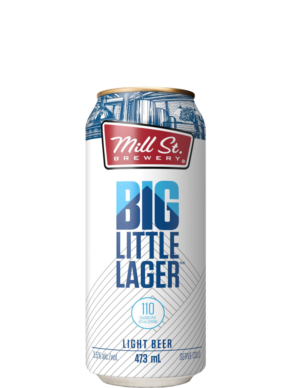 Mill St. Big Little Lager 4 Pack Cans
