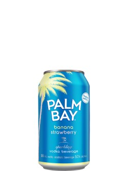 Palm Bay Banana Strawberry 6 Pack Cans
