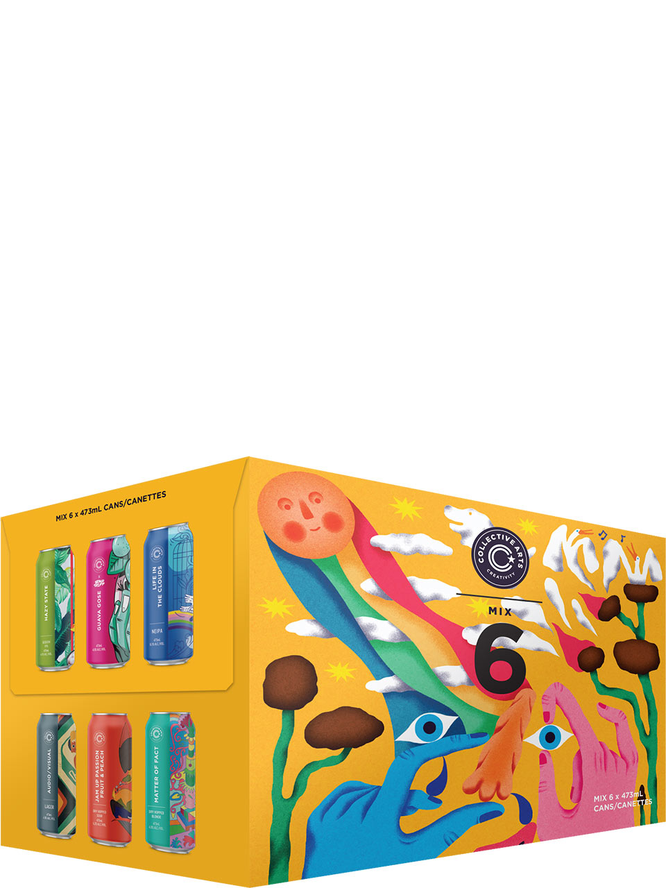 Collective Arts Summer Mix 6 Pack Cans