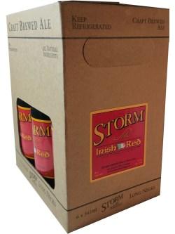 Storm Irish Nfld. Red Ale 6 Pack Bottles