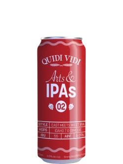 Quidi Vidi Arts & IPAs #2 West Coast Imperial IPA