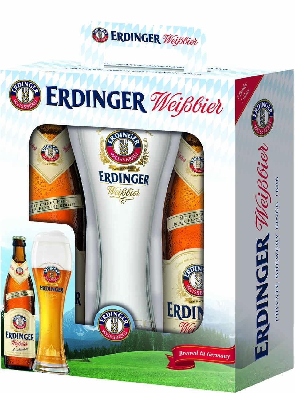 Erdinger Bavaria Gift Pack with Glass
