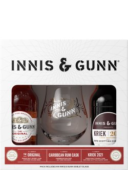 Innis & Gunn Mix 4 Pack with Glass