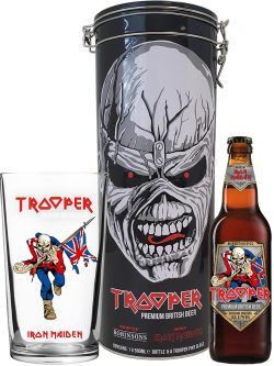 Trooper Gift Tin with Glass