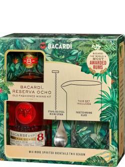 Bacardi 8 YO Gift Pack