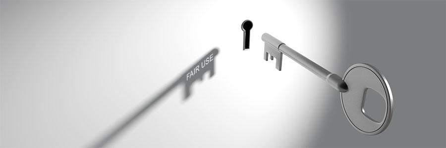 A skeleton key hovers near a keyhole