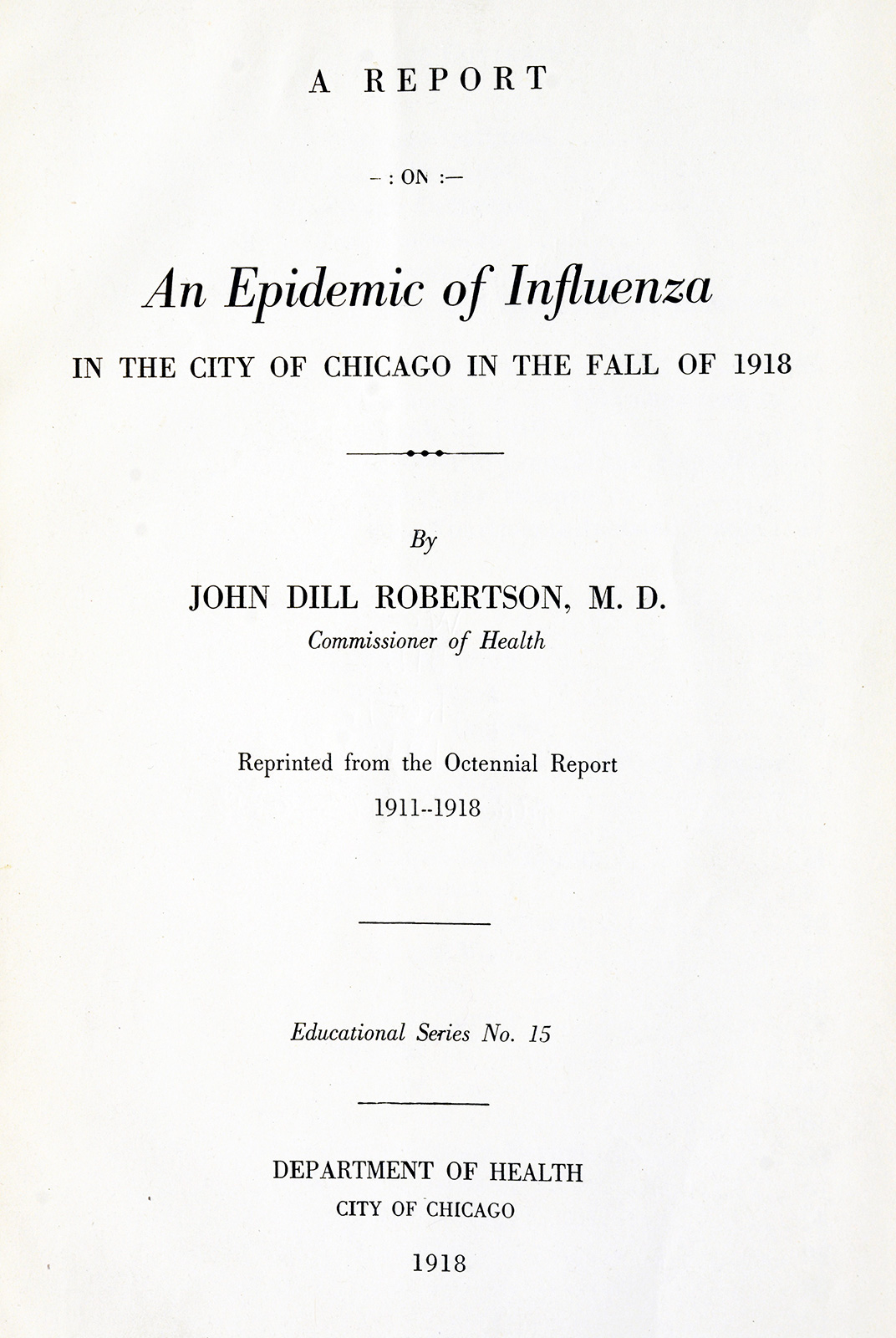 Exploring Chicago S Spanish Flu Of Circulating Now From Nlm