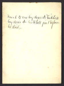 A note by Dr. Ryder about the source of the poem.