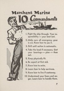 Merchant Marine 10 Commandments