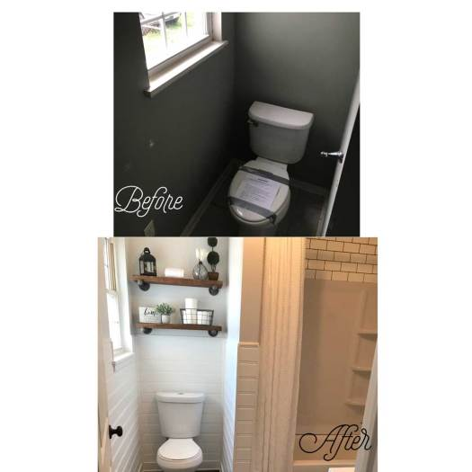 Bathroom2 - Before & After Renovations 2