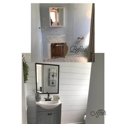Master Bath - Before & After Renovations 2