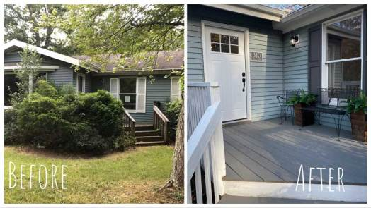 Exterior - Before & After Renovations 2