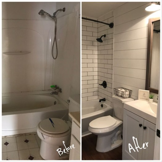 Bathroom - Before & After Renovations