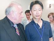 米国NLP協会、リチャードバンドラー博士と大野講師