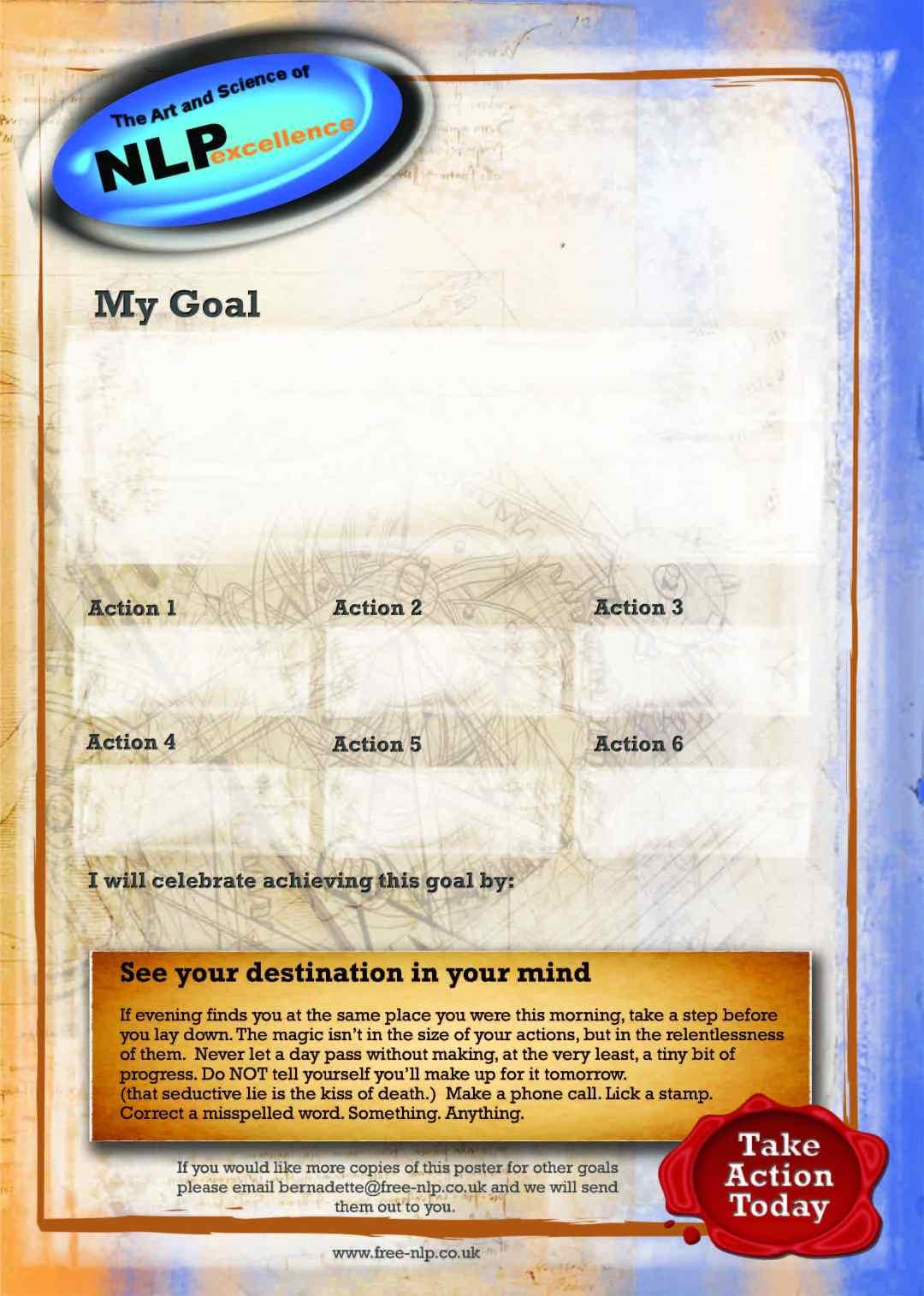 Goal Setting poster