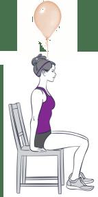 Balloon posture