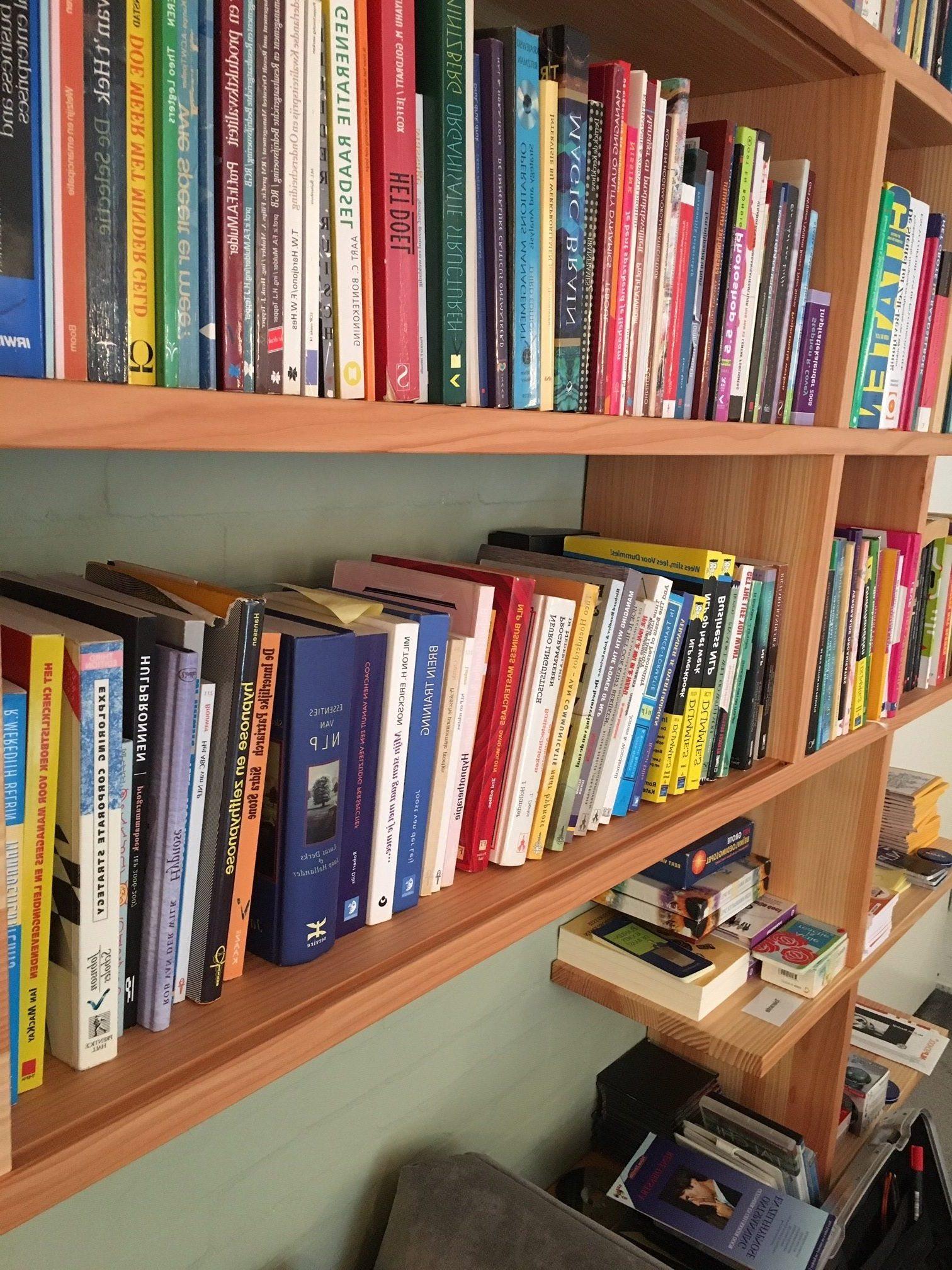 Boeken locatie NLPSchool