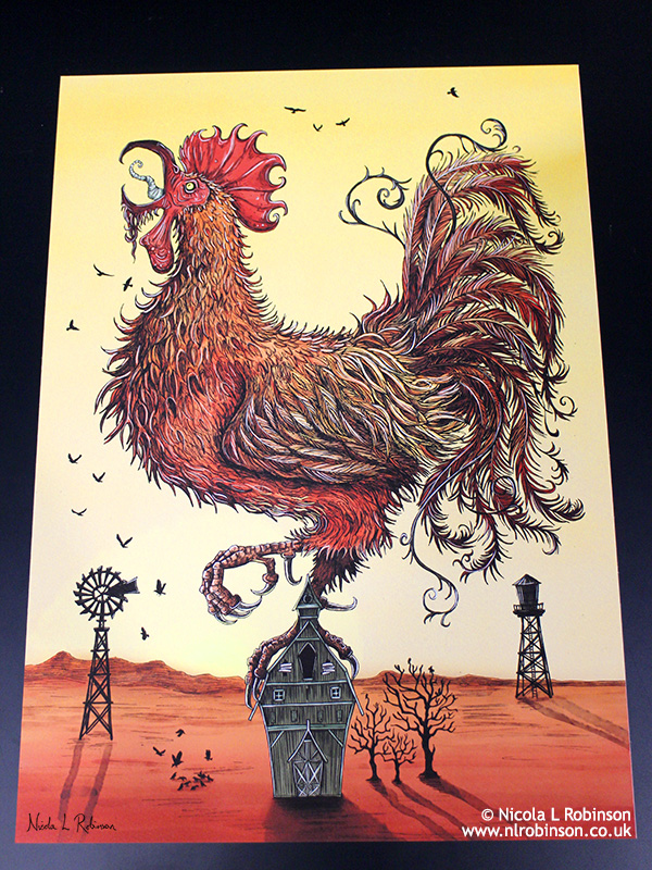 Year of the Rooster © Nicola L Robinson