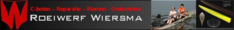 Roeiwerf Wiersma banner