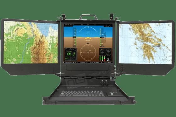 Rugged Military Dual Triple Lcd Monitors Nls Displays