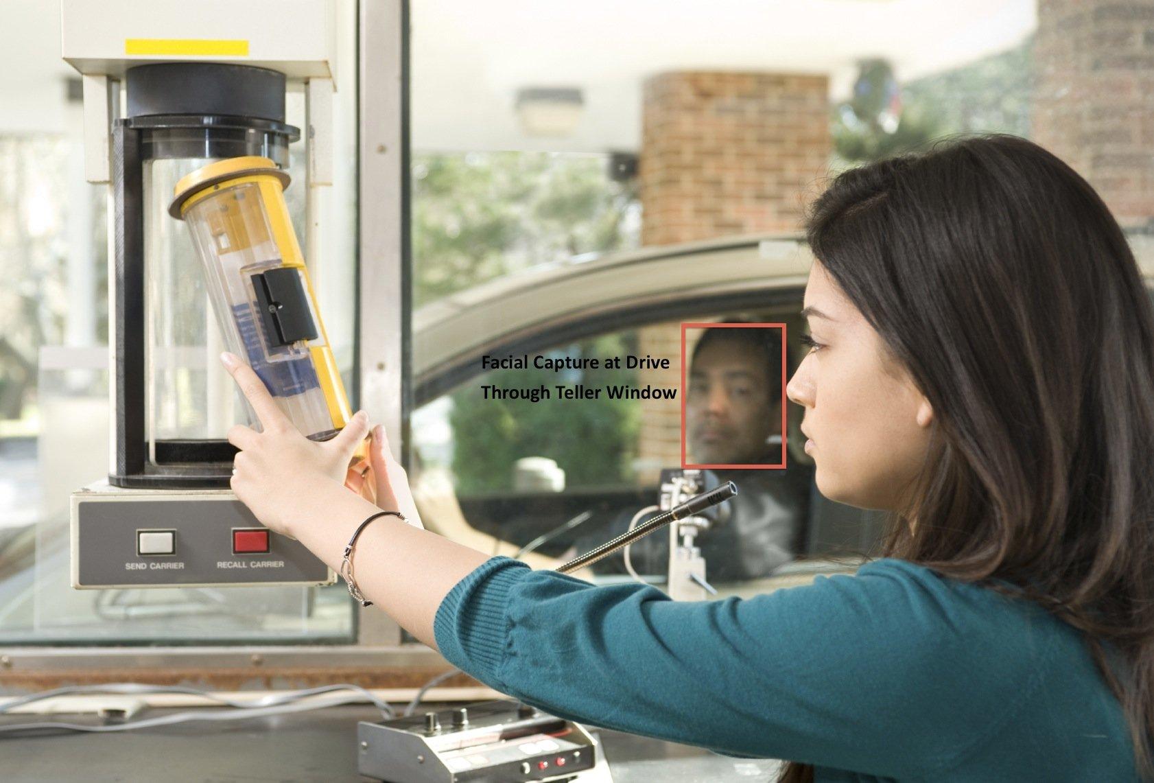 Drive Teller Bank Window