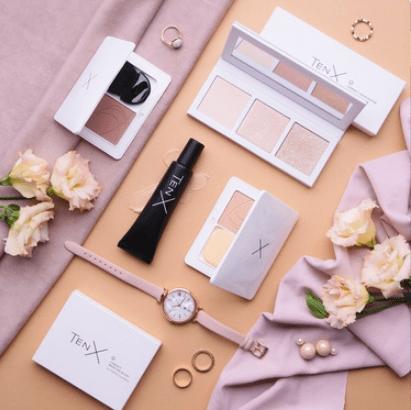 косметика Tenx, кейс тенкс, макияж от NL_int
