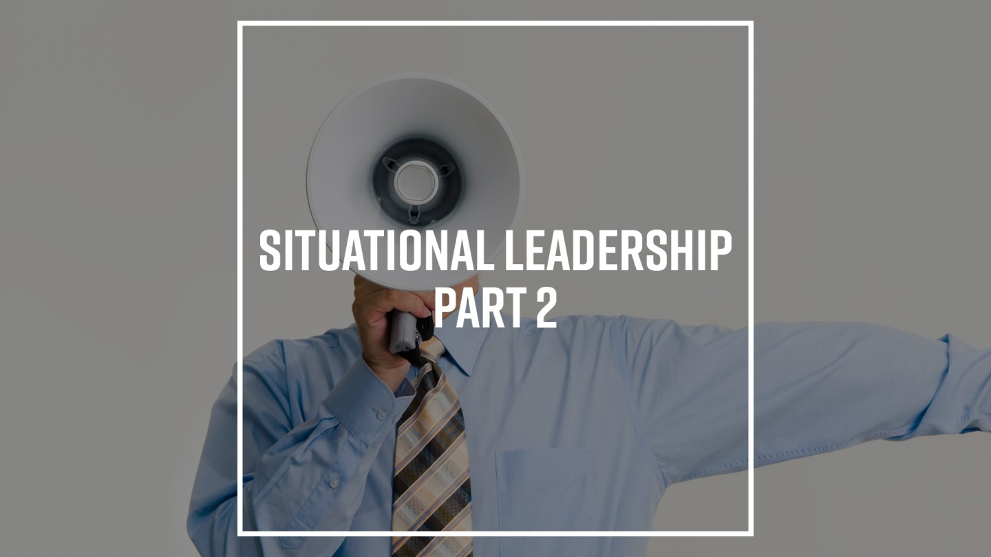 Cover image for blog post Situational Leadership Pt. 2 by Nick Vogel.