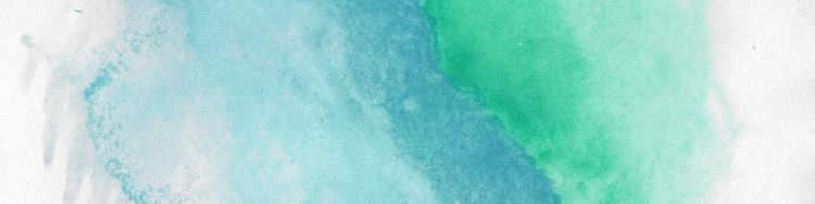"""Abstract green and blue background with the words """"daily devotions and worship music"""" overlaid on it."""