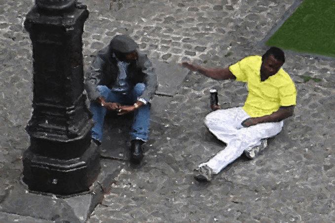 friends paris pompidou ret-001 gall