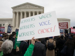 Read more about the article Mandated union dues as a condition of employment under fire in court again