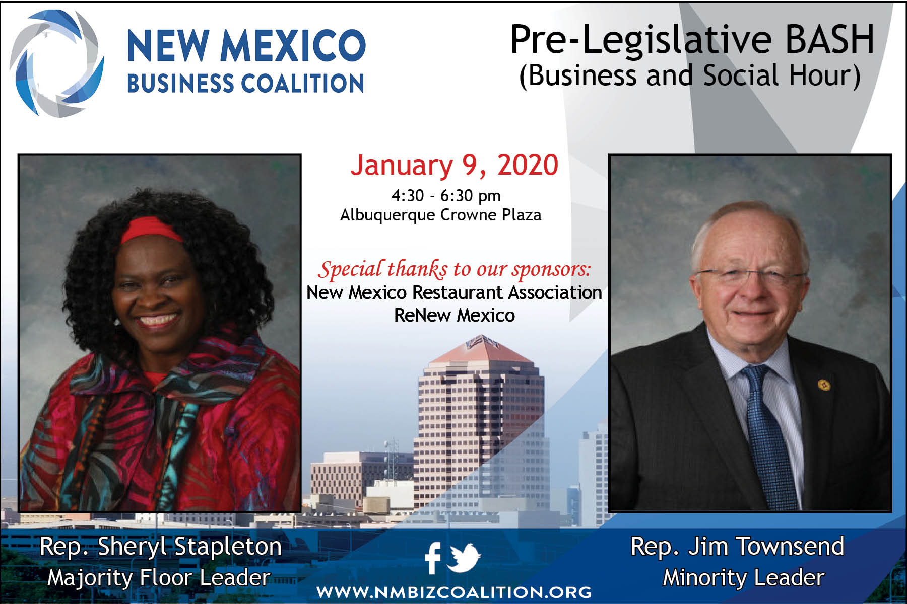 Read more about the article The Pre-Legislative session BASH is almost here!