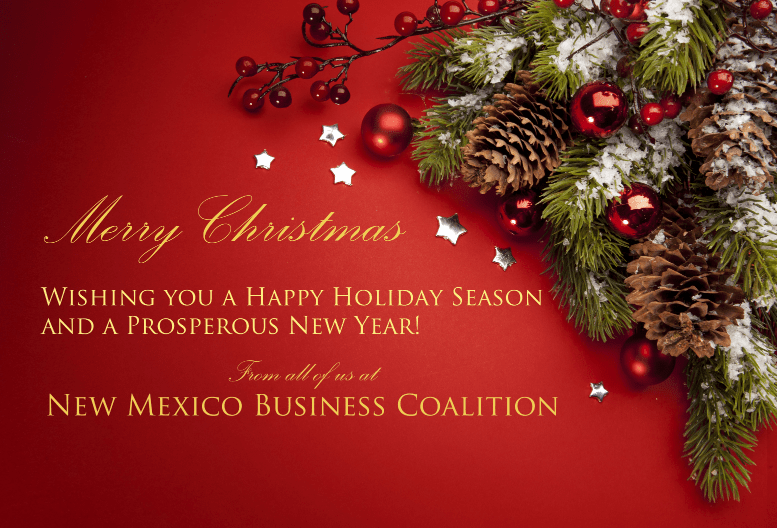 Merry Christmas from the NMBC team!