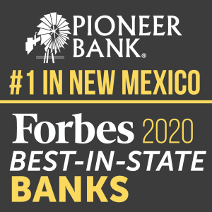 NM's Pioneer Bank named best in the state by Forbes