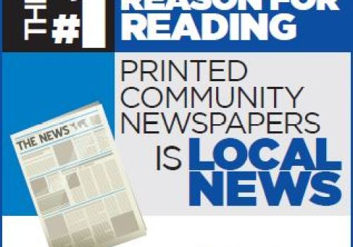 The #1 reason for reading printed community newspapers is local news