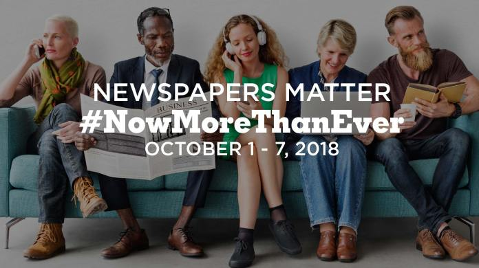 National Newspaper Week 2018