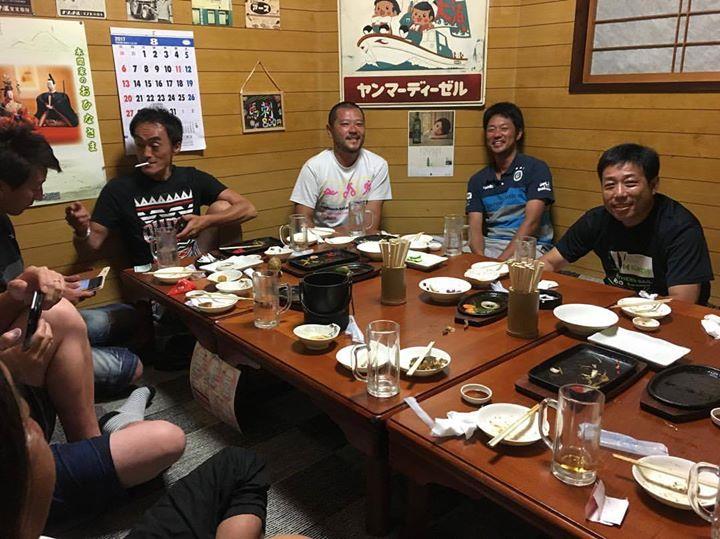 松陵、「スポ少サッカー」の親御さん達❣️(o^^o)