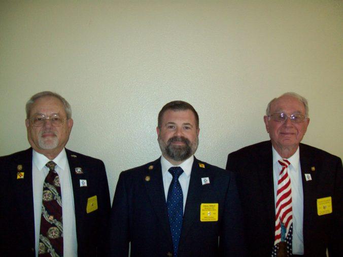 3 Generations of NMEA Presidents - John Hilliard, Johnny Hilliard, Jimmie Fitzpatrick (Maternal Grandfather