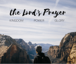 The Lord's Prayer Sermon Graphic Bulletin Cover