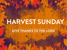 Harvest bulletin cover