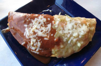 Breakfast Empanada at the Blue Cactus Grill